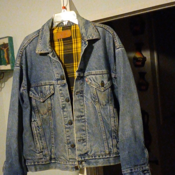Vintage Fleece Lined Levi's Jean Jacket